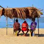 Miramar Beach, Goa, India