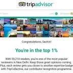 Another Recognition by TripAdvisor