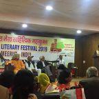 ट्रेवल ब्लॉगिंग का बढ़ता ट्रेंड : मेरठ लिटरेरी फेस्टिवल में यात्रा लेखक सचिन देव शर्मा